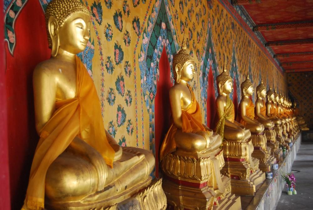 Akupunktur K. Rummelsburg, Buddhafiguren