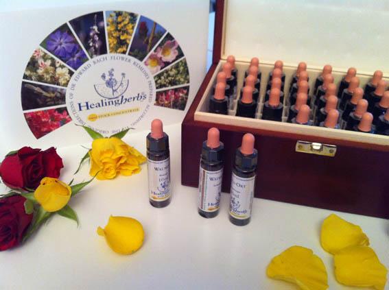 K. Rummelsburg - Berlin-Akupunktur - Bachblütenflaschen